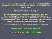 Un-secured Loans eradicated