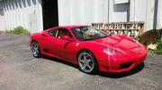 1999 Ferrari 360 35500 miles